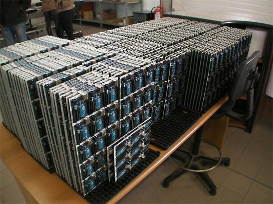 Visita de la fábrica de Arduino en Italia