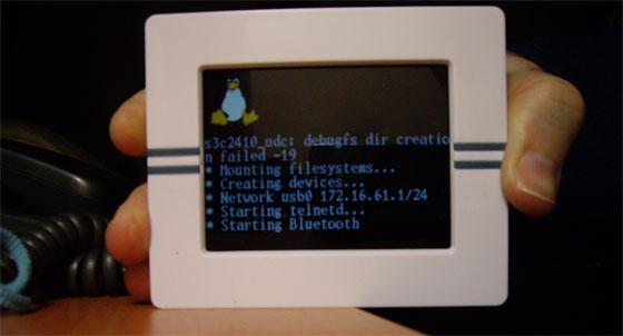 Cómo instalar Linux en un marco digital