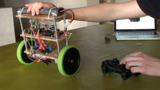 Robot balanceado con mbed