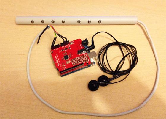 Gaita MIDI casera con Arduino