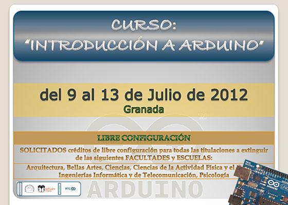Curso de introducción a Arduino en Granada
