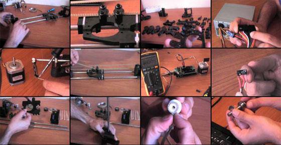 (Video) Guia de montaje de la Impresora 3D Prusa 2