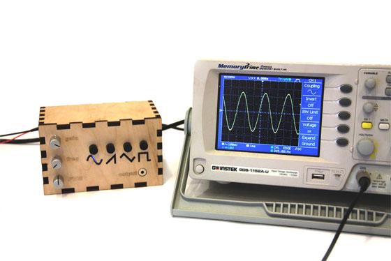 Generador de ondas casero con Arduino