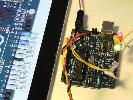Controlando Arduino desde iPad y iPhone