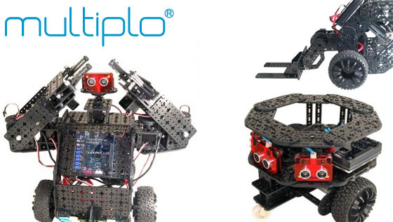 Multiplo: Kit de robótica basado en Arduino