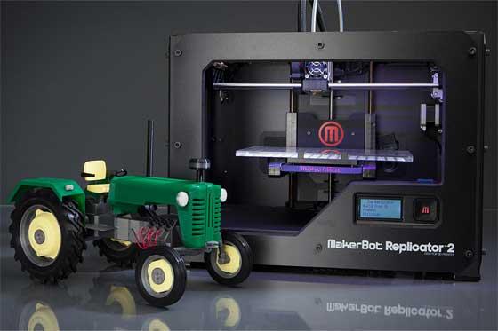 Nueva impresora 3D MakerBot Replicator 2