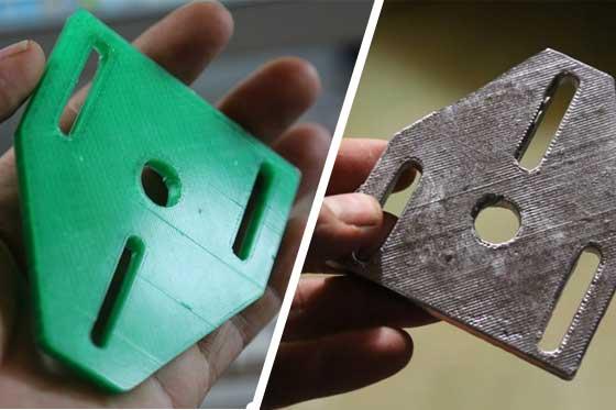Fabricando piezas de aluminio con una impresora 3D