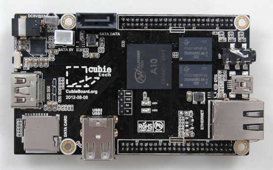 Cubieboard: Una seria competencia de Raspberry PI