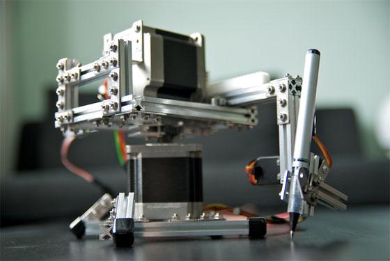 Plotter Polar con Arduino, HTML5 y Makerbeam