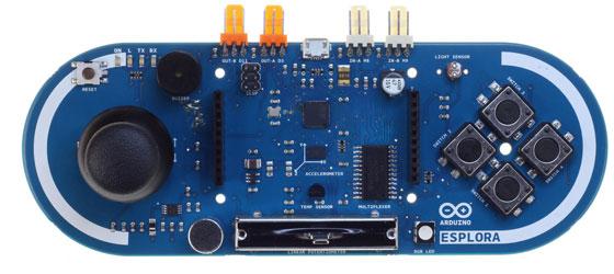 Arduino Esplora con Atmega32U4