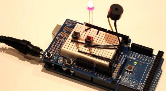 Navidad Geek 2012: Villancicos por buzzer con Arduino