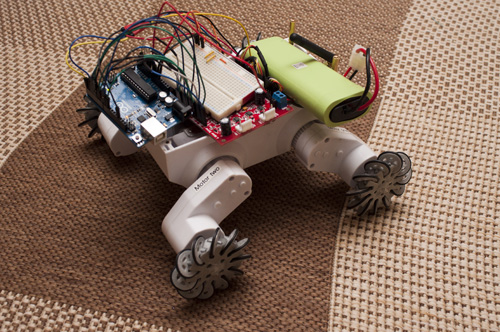 Imprimiendo las ruedas de tu robot