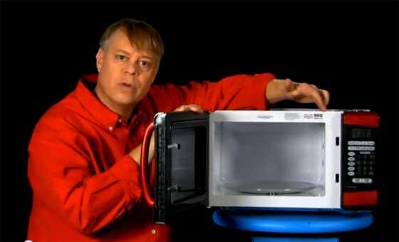 Cómo funciona un horno de microondas
