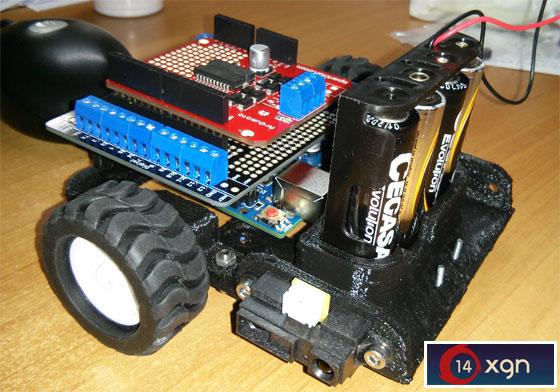 Taller de introducción a la robótica con Arduino (XGN14)