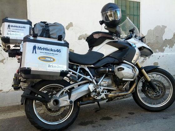 Comienza la vuelta al mundo en moto de MrHicks46