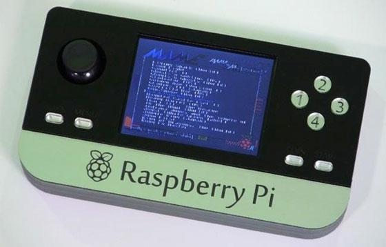 Consola de juegos portátil con Raspberry Pi