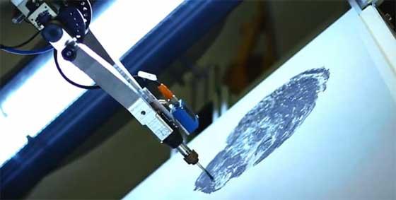 e-David: El robot pintor