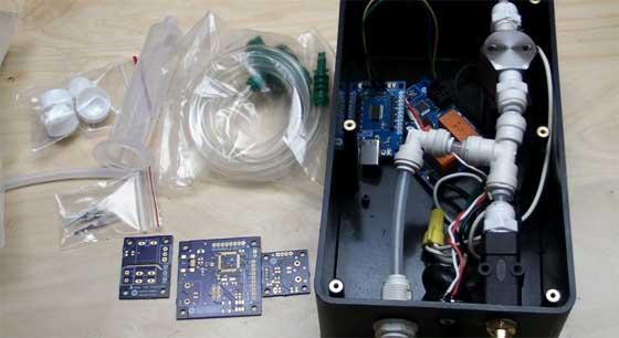 Dispensador de pasta de soldar automático