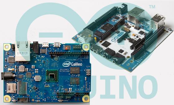 Más potencia con Arduino Galileo y Arduino Tre