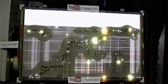 Conectando 2000V a una televisión de plasma