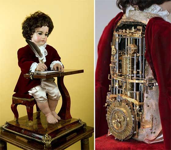 Automata programable de 240 años de antigüedad