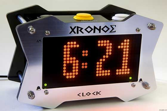 Xronos: Un reloj diferente con acabado impecable