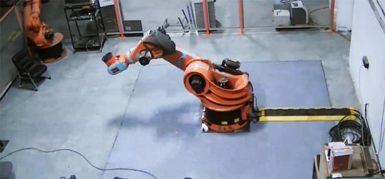 Instalación de un robot KUKA