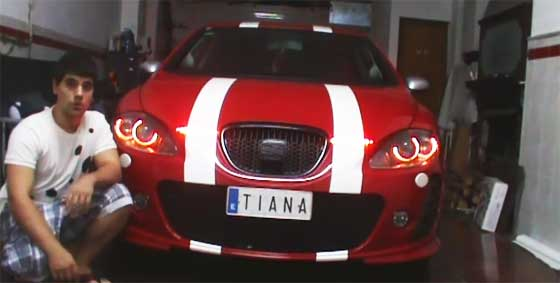 Proyecto T.I.A.N.A.: Seat Leon inteligente
