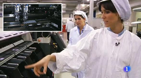 Cómo se fabrican productos electrónicos en España