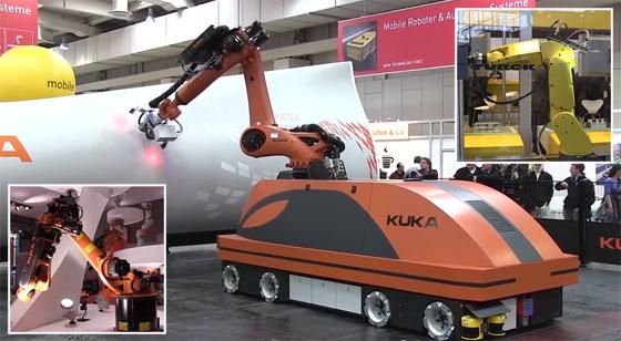 Los robots de la Feria Industrial de Hannover