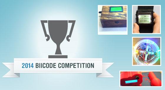 Resultados y ganadores de Biicode Contest 2014