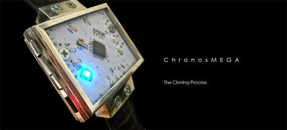 ChronosMEGA: Reloj de pulsera casero con acabado profesional