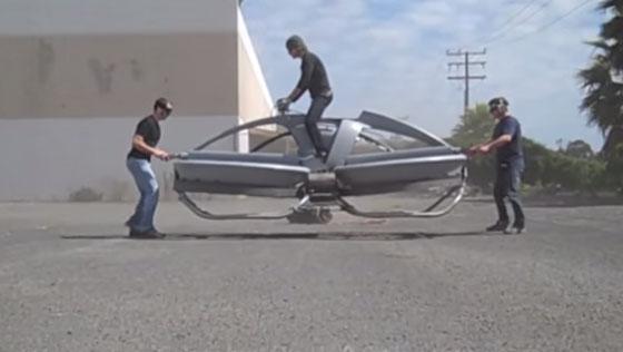 Aero-X Hoverbike: Una moto estilo drone
