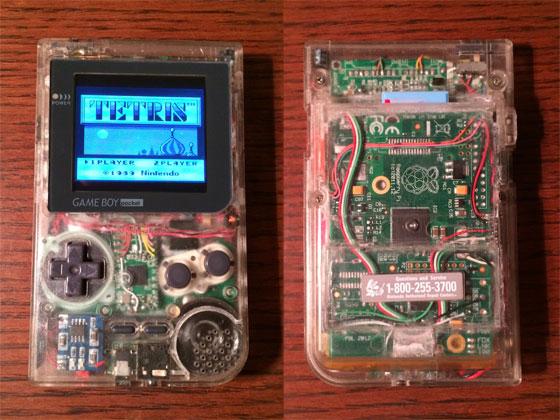 Pi-Pocket: Gameboy modificada con Raspberry Pi
