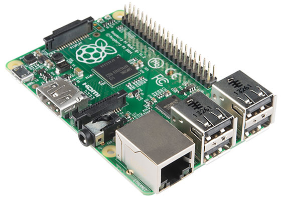 Nueva Raspberry Pi Model B+