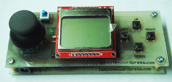 Juego 2048 portátil con Arduino