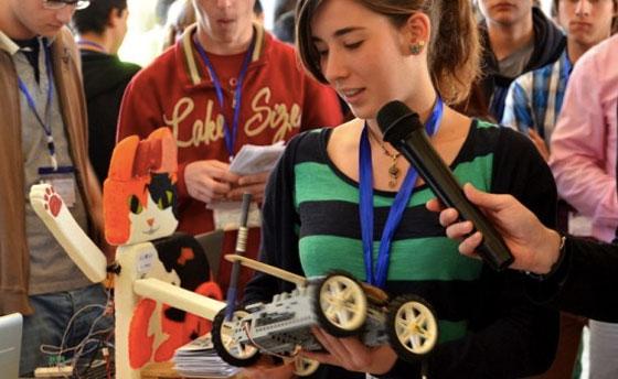 Taller de tecnología creativa en clase con Arduino