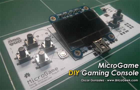 MicroGame: Consola de juego casera basada en Arduino