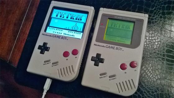 Consola de juegos Gameboy con Raspberry Pi