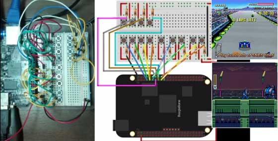 Cómo convertir una BeagleBone en una consola SNES