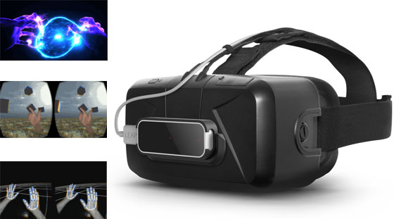 Extensión de Leap Motion para Oculus VR