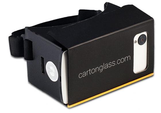 CartonGlass: Una versión mejorada de Google Cardboard