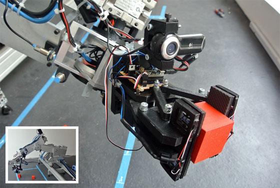 Brazo robot de 6 ejes casero con reconocimiento visual