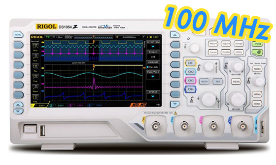 Cómo convertir un Rigol 1054Z a 100 MHz