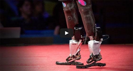 Las piernas biónicas de Hugh Herr
