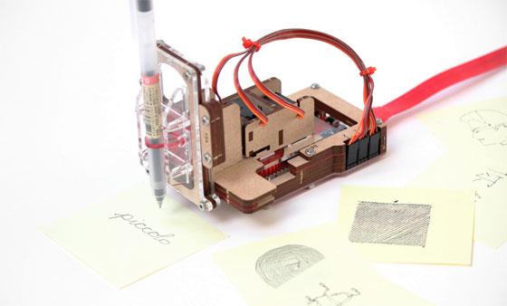 Piccolo: Un pequeño CNC-bot Open Source