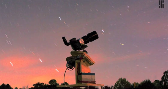 Detectar un planeta extrasolar con una cámara DSLR