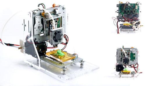 Una impresora 3D por 60 dólares