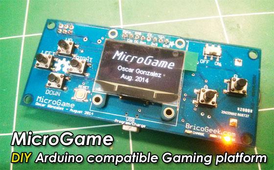 MicroGame: Consola de juego compatible con Arduino (Proyecto final)