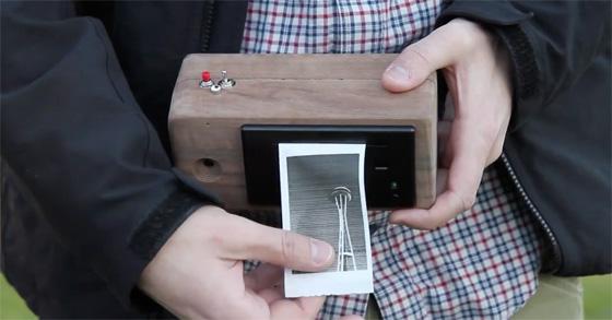 PrintSnap: Cámara de fotos instantánea con impresora
